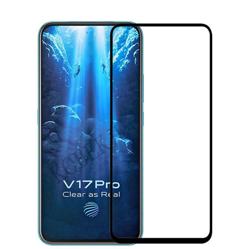 VIVO V17 PRO TEMPERED GLASS FULL SCREEN FULL COVERAGE 3D