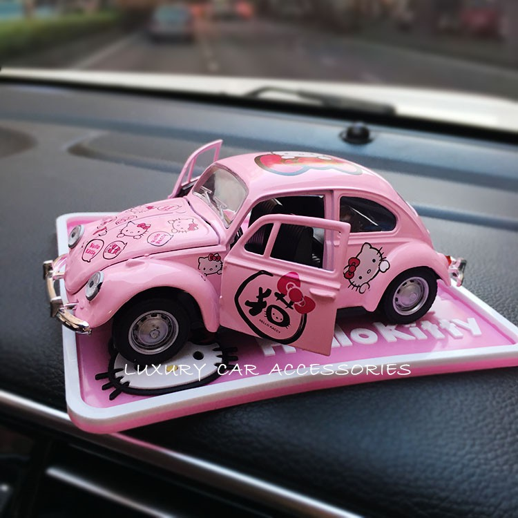 [READY STOCK] HELLO KITTY ALLOY TOY CAR DASHBOARD DECORATION ACCESSORIES
