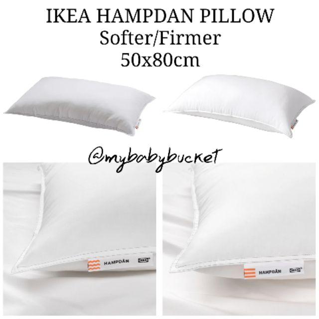 Pillow Ikea Hampdan Firmer 50x80 Cm