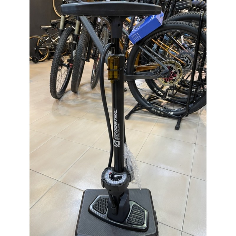 Geometric Alum Evolution Floor Pump 160Psi