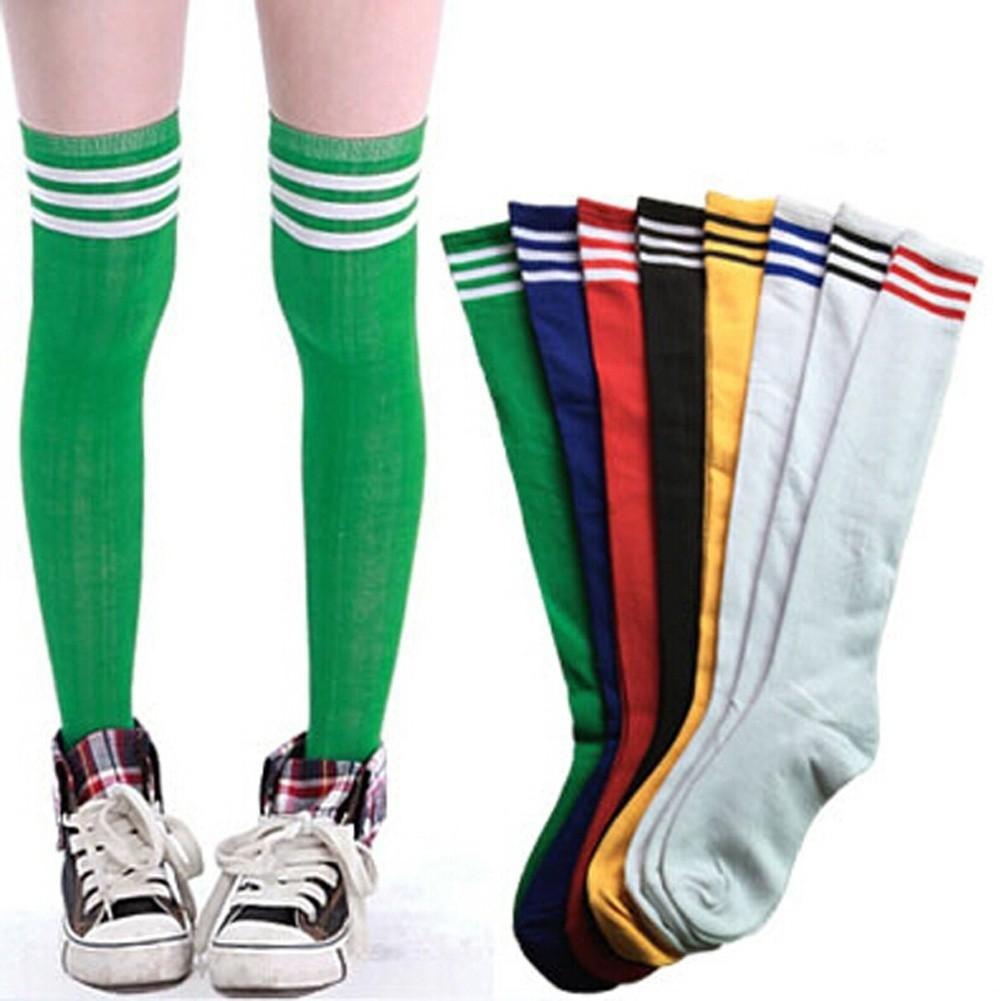 d7cc3207295 Sport Legging Stocking Soccer Baseball Football Basketball Over Knee Ankle  Socks
