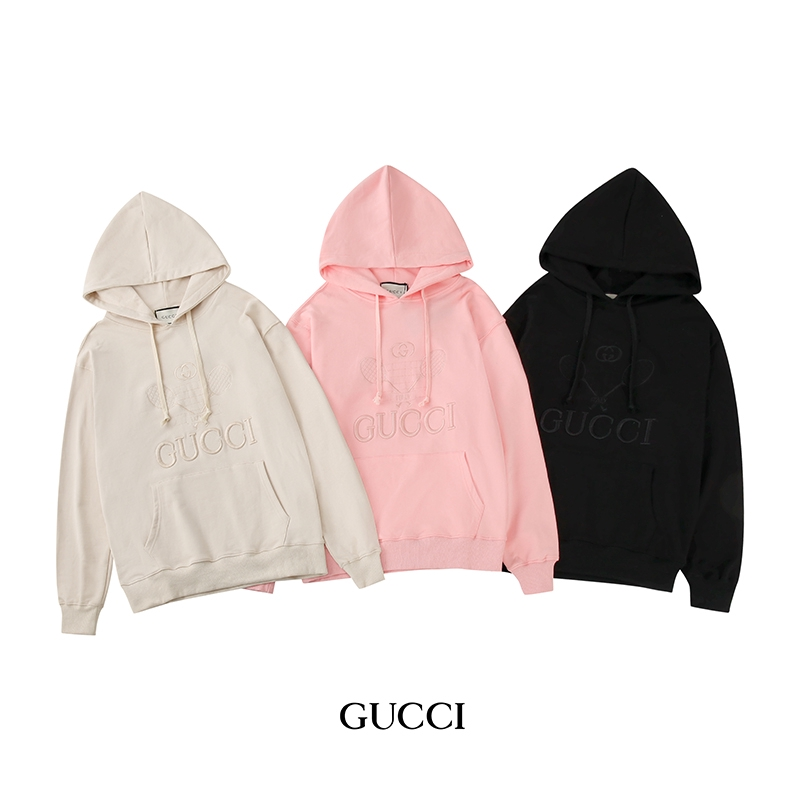 so cheap info for sale uk Unisex Fashion GUCCI Embroidery Hoodie Men Women Hoodies Casual ...