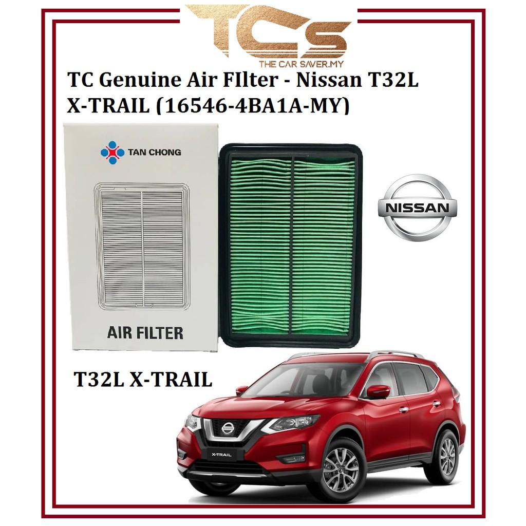 TC Genuine Air FIlter-Nissan T32L X-TRAIL Air Filter (16546-4BA1A-MY)