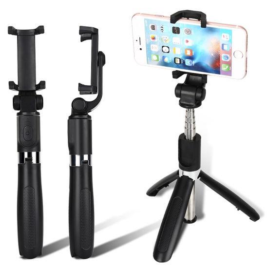 Bluetooth Wireless Selfie Stick Tripod L01/K07 Multifunctional Foldable TrendyColour