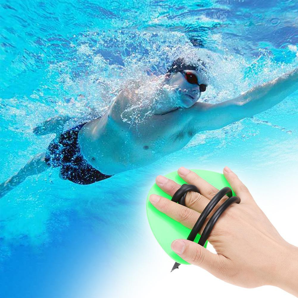 ❈1 Pair Adult Kid Webbed Swimming Gloves Palms Water Skiing Strokes Training Paddles | Shopee Malaysia