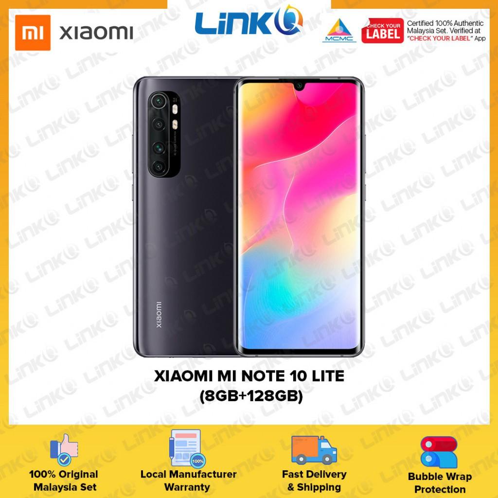 Xiaomi Mi Note 10 Lite (8GB RAM + 128GB ROM) Smartphone - Original 1 Year Warranty by Xiaomi Malaysia (MY SET)