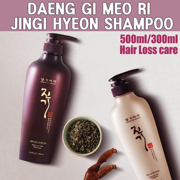 ★JIN GI HYEON★ Shampoo 500ml / Treatment 300ml ♥DAENGGIMEORI♥ Anti Hair Loss