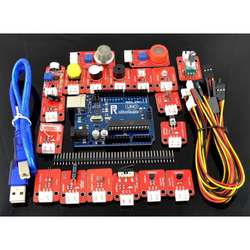 New sensor kit Electronic blocks kit with UNO R3 development board