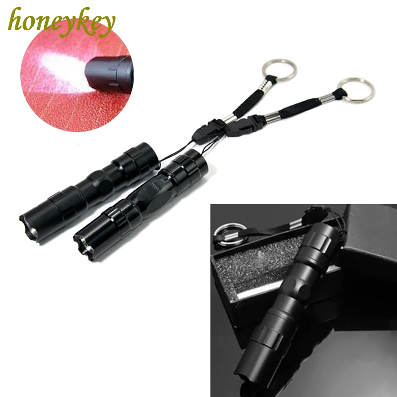 Pen Size USB Rechargeable Lamp 500lm Flashlight Torch LED Cree Q5 Mini Pocket