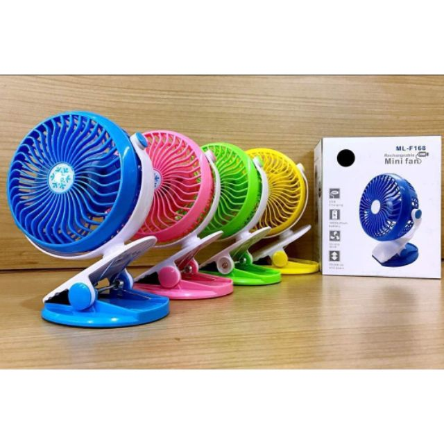 HOT SALES MLF168 360 Adjustment Portable Hand Mini Clip Cooling Fan Baby Stroller Office