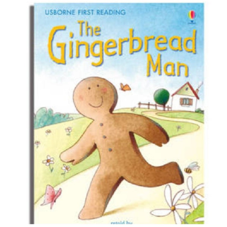 The Gingerbread Man (FIRST READING, LEVEL 3) , Author By : MacKinnon, Mairi , ISBN : 9780746073360