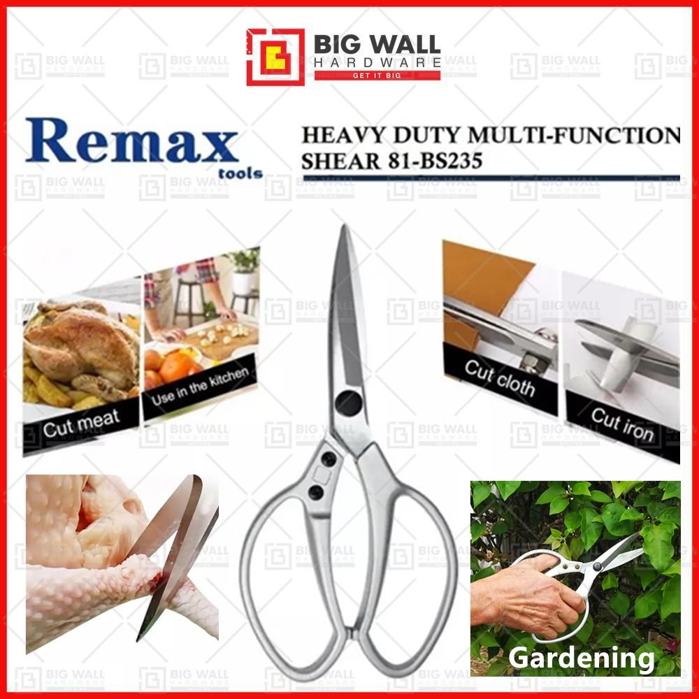 Remax 235mm Heavy Duty Multi-Functional Shear 81-BS235 (Big Wall Hardware)