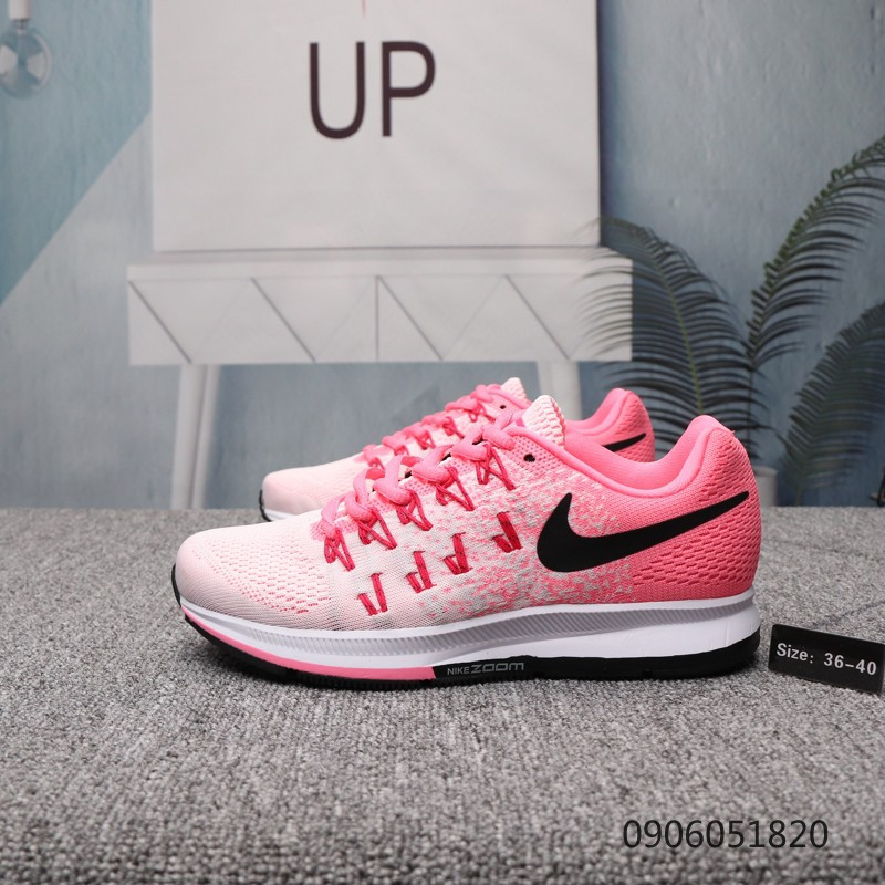 Nike Air Zoom Pegasus 33 Women's Casual Running Shoes Pink size36 40
