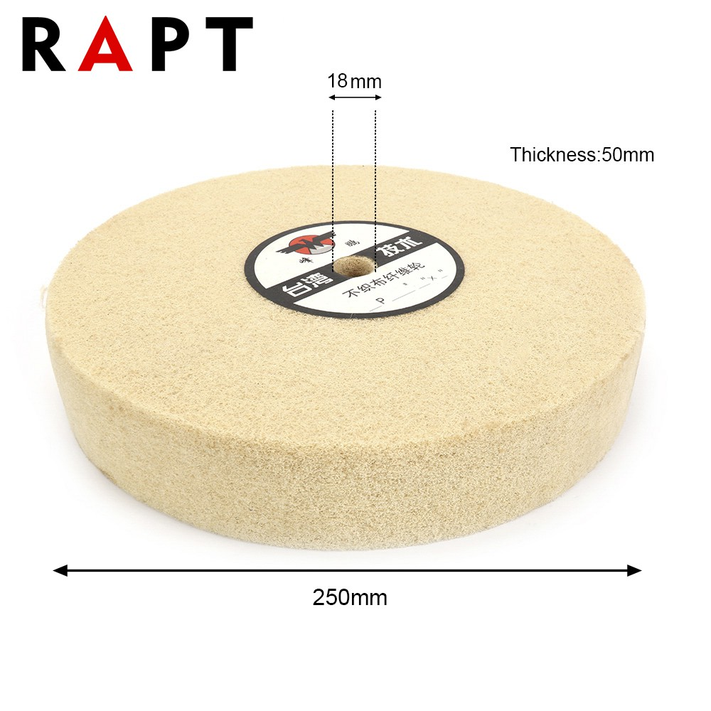 10/'/' 250mm 5P Polishing Grinding Buffing Nylon Fiber Abrasive Wheel 18mm Hole