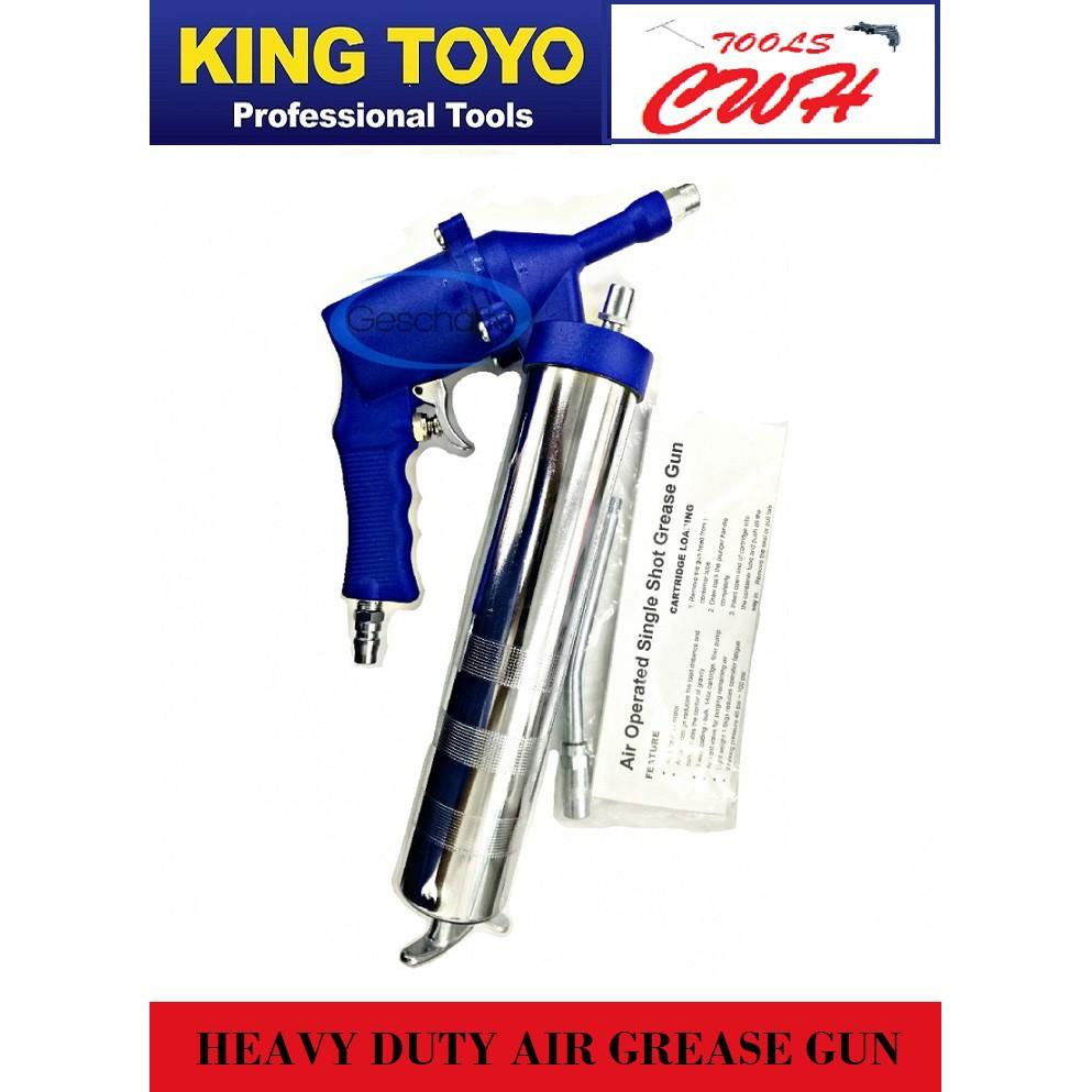 King Toyo KT-AG400 Heavy Duty Air Grease Gun                                     . MYDIY PRODIY MR DIY PROTOOLS