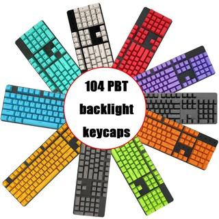 edf38436a42 Russian-PBT-Variety-Choices-Cherry-MX-Mechanical-Switches-. Russian PBT  Variety Choices Cherry MX Mechanical Switches 108 Keyboard KeyCaps