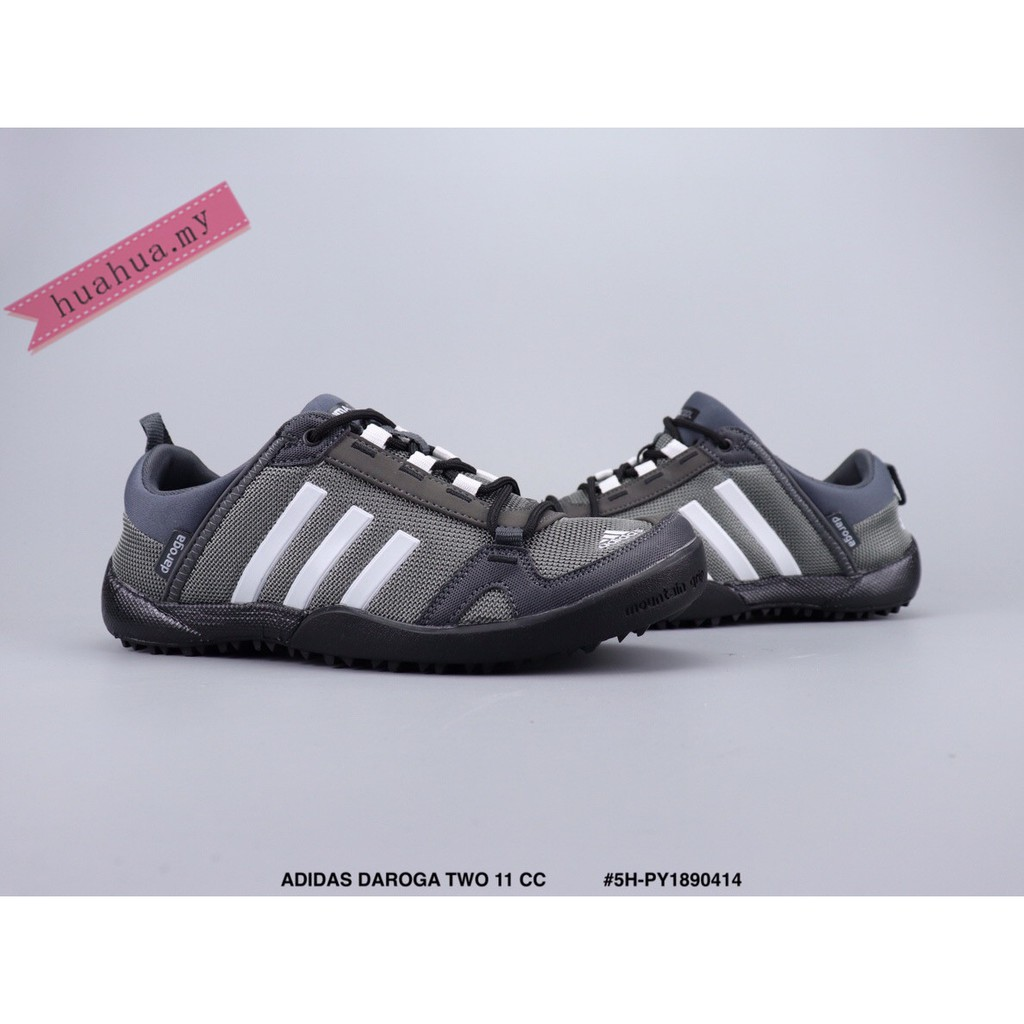 best service 236c3 02b43 New ADIDAS DAROGA TWO 11 CC gray Quick-drying shoes Breathable Wading shoes
