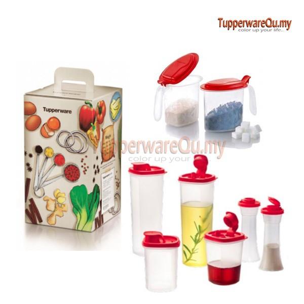 Tupperware Kitchen Counter Top Set