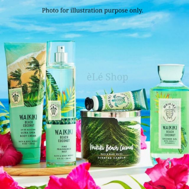 Wakiki Beach Coconut Bath And Body Works