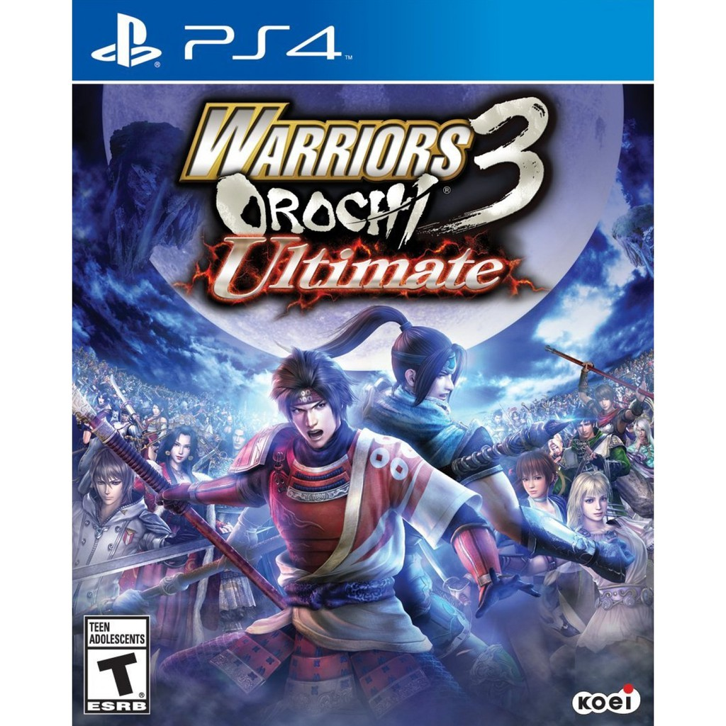 Ps4 Warrior Orochi 3 Ultimate R2 ENG (NEW)
