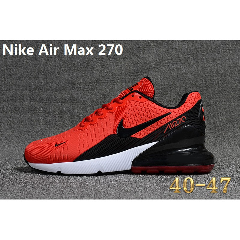 d145b37677 Nike Air Max Flair 270 Running Shoes Black Red Men Sneakers Size 40-47 |  Shopee Malaysia