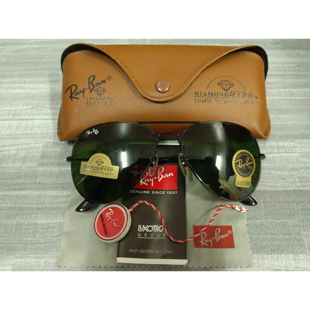 f47bb8d45ec Rayban Diamond Hard All Black Spec Spectacles Sunglasses