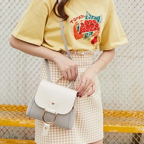 Backpack Korea Style Ladies Women Shoulder Bag Mini Backpack 少女网红韩版背包 B00145