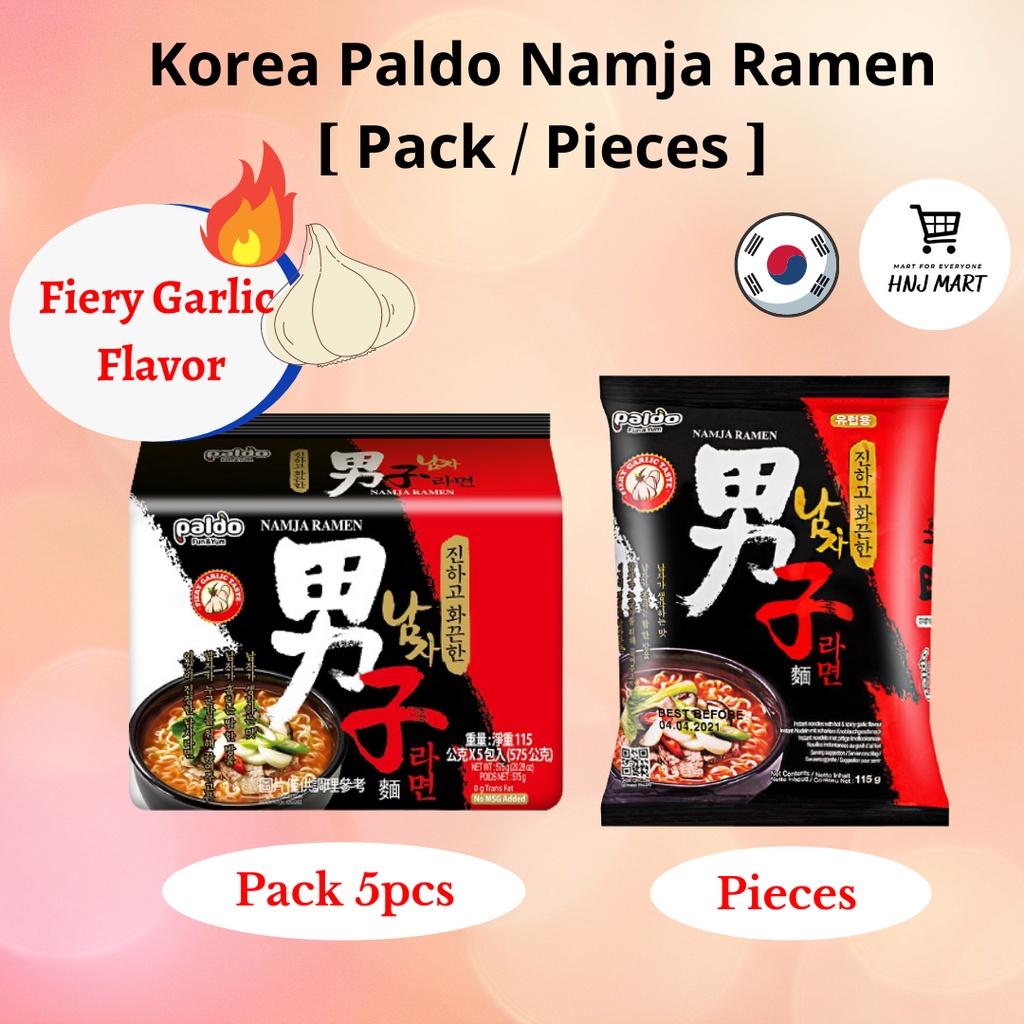 Korea Paldo Namja Ramen/Namja Ramyun Fiery Garlic 韩国八道男子拉面/男子面