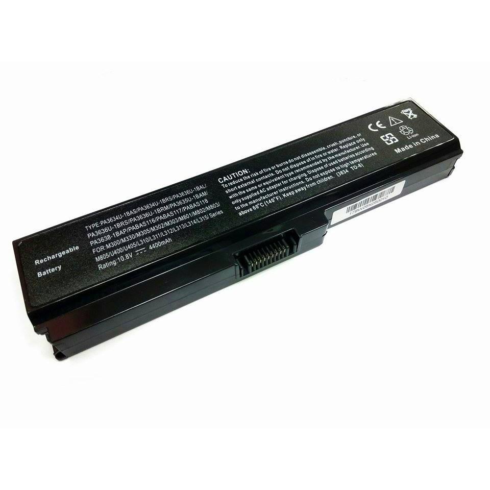 Toshiba 3634 PA3634U-1BRS L310 M300 M805 U400 Laptop Battery [1 YEAR WARRANTY] | Shopee Malaysia