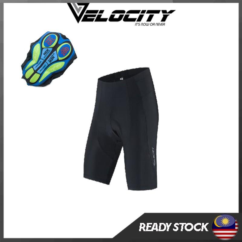 VELOCITY Premium Pro Cycling Pant Bib Seluar Bib Basikal Velosport