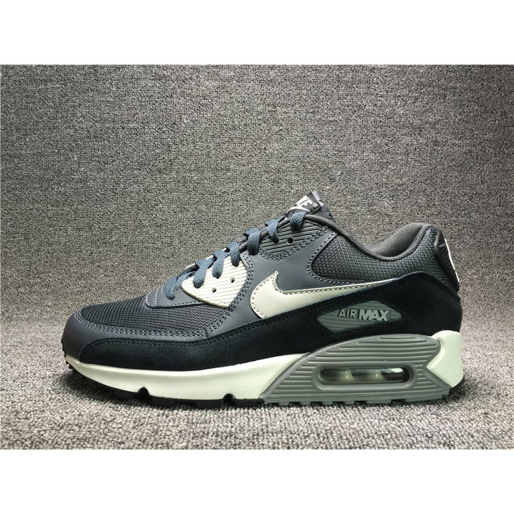 Nike Air Max 90 Essential Men's Shoes BlackWolf GreyAnthracite 537384 035