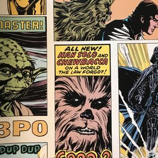 Original Star Wars Wallpaper Star Wars Pop Art Collage Kids Home Graham Brown Shopee Malaysia