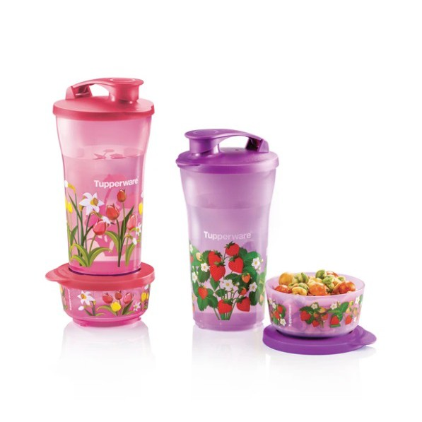 Tupperware Quench and Snack Set