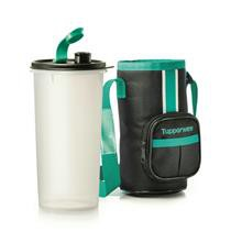 TUPPERWARE Water Bottle with Pouch High Handolier 1.5L