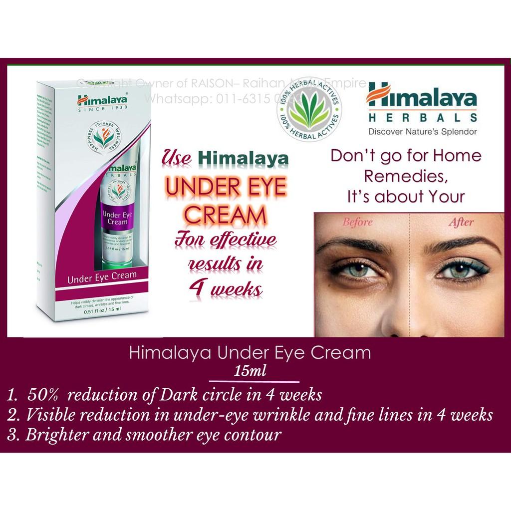 Himalaya Under Eye Cream 15ml Shopee Malaysia