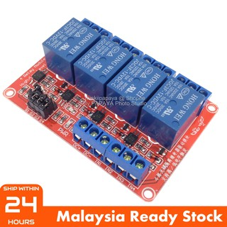 BEST] 4 Channel Isolated 12V Relay Module With Low High Level