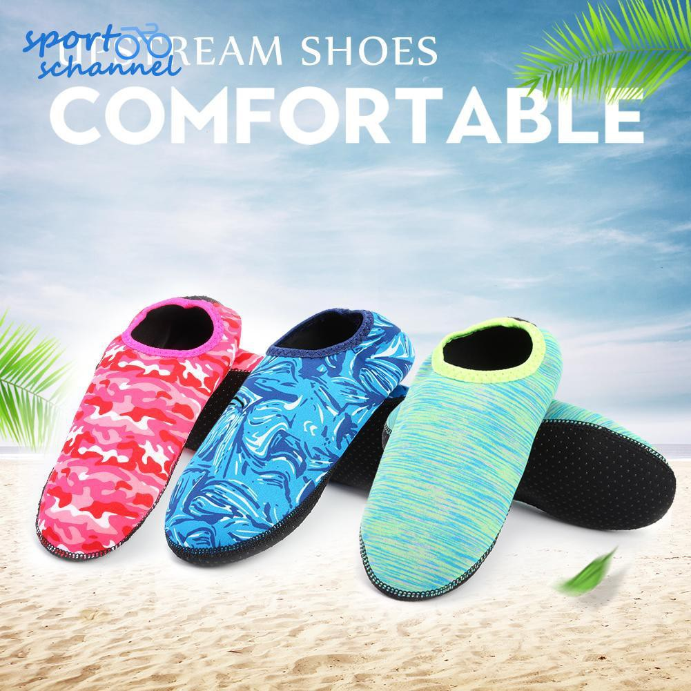 WARMSHOP children Swim Diving Non-Slip Shoes Slip-On Shallow Outdoor Water Sport Socks Shoes