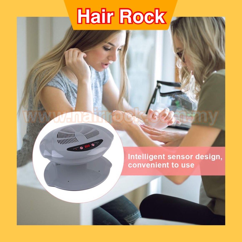 Nail Dryer Dual Use Nail Fan Air blower Manicure Tool With Sensors for Drying