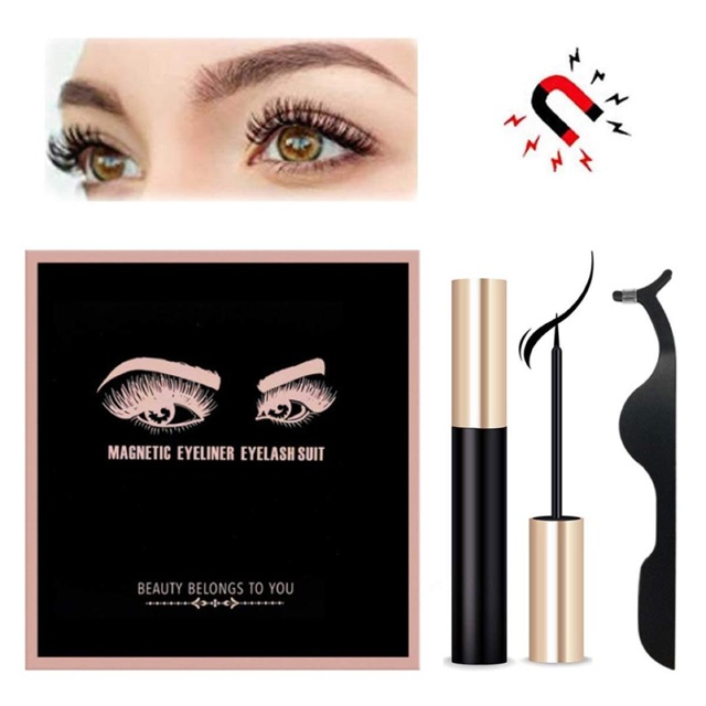 MAGNETIC EYELINER WITH LASHES KIT | Shopee Malaysia