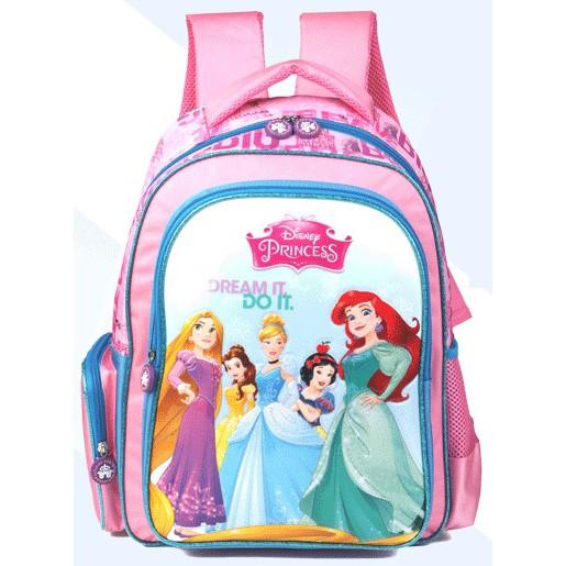 0e48fb71786c Disney Princess Dream it, do it pink & l/blue backpack