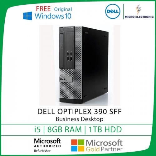 Dell Optiplex 390 SFF Business Desktop i5 8GB 1TB HDD Windows 10  [Refurbished]