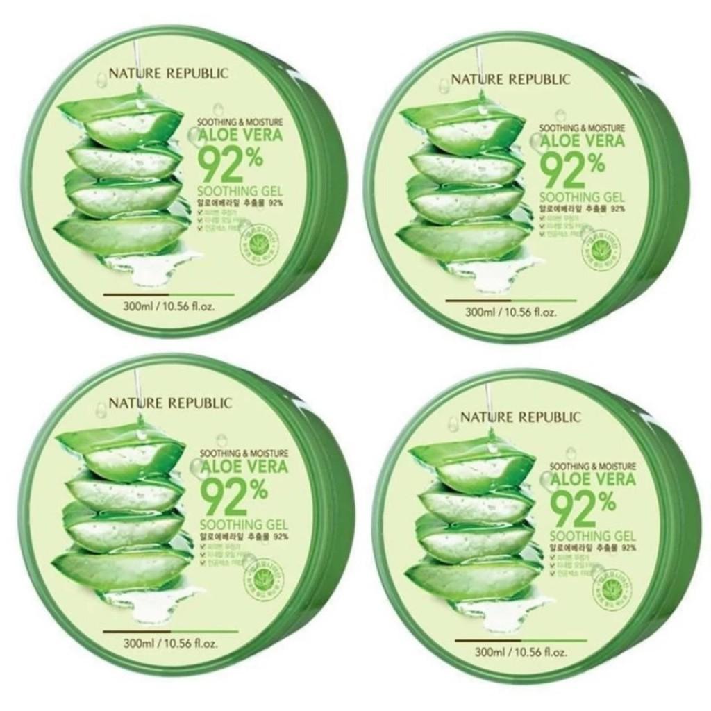 Bioaqua 92 Aloe Vera Soothing Gel 220g Bqy0870 Shopee Malaysia 160ml