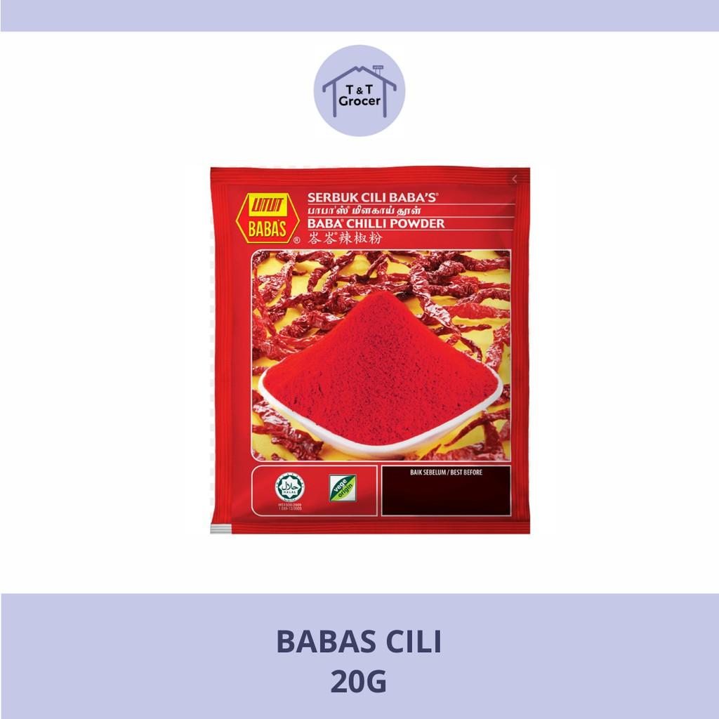 Babas Chilli Powder (20g)