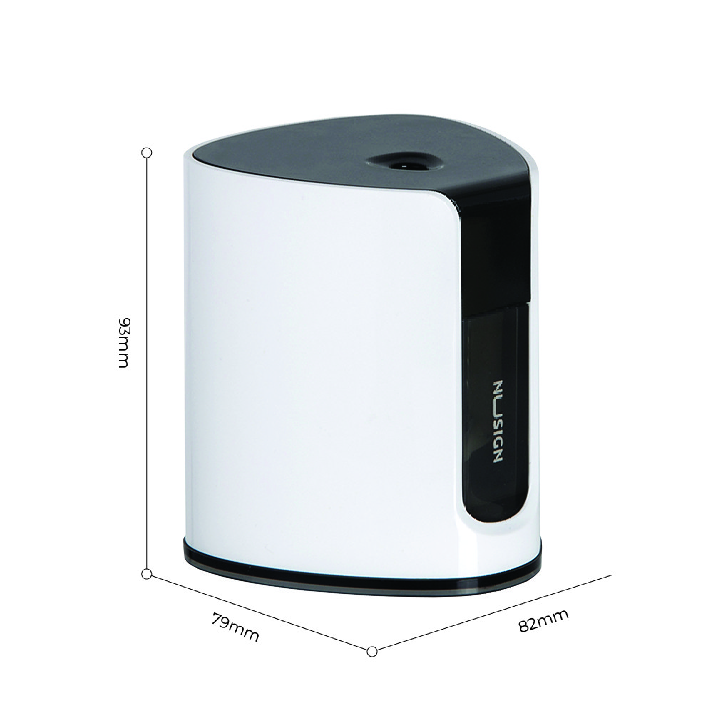 Jadi Nusign Electric Pencil Sharpener in Pure White