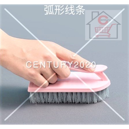 Scrub Brush Comfort Grip & Flexible Stiff Bristles Heavy Duty for Bathroom Shower Sink Carpet Floor