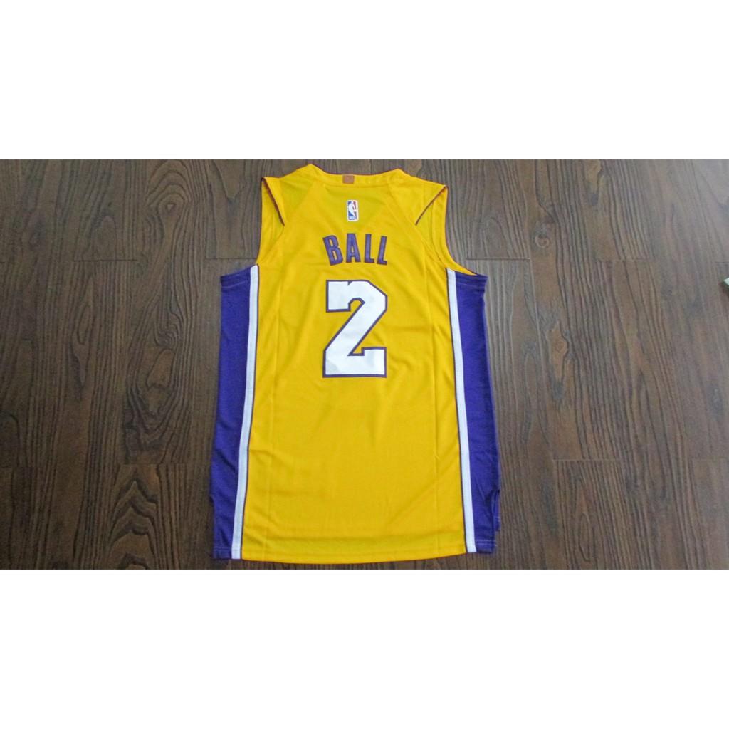 d9e71f9e328 ProductImage. ProductImage. NBA NIKE new season L.A. Lakers #2 ball basketball  jerseys