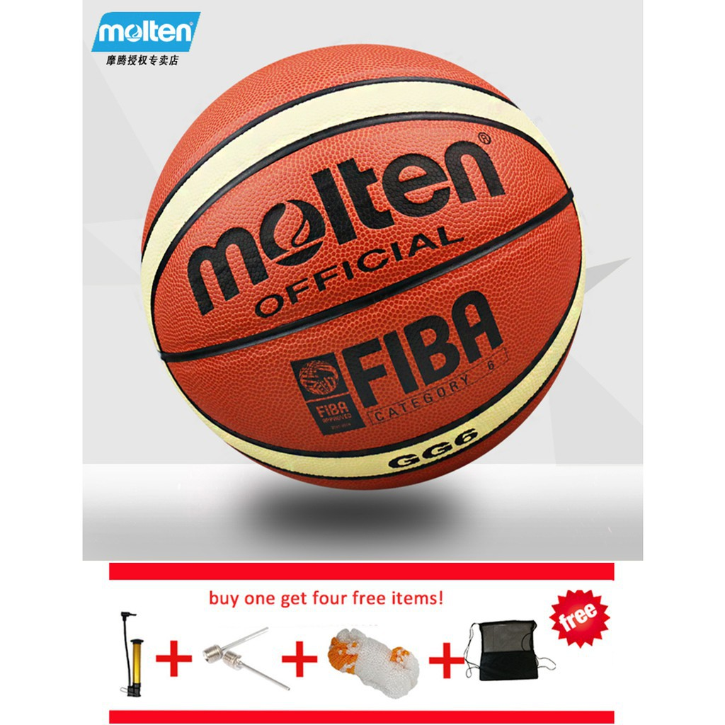FIBA Official basketball ball Size 6 Molten original GG6 Women s Basketball   5e741110d7
