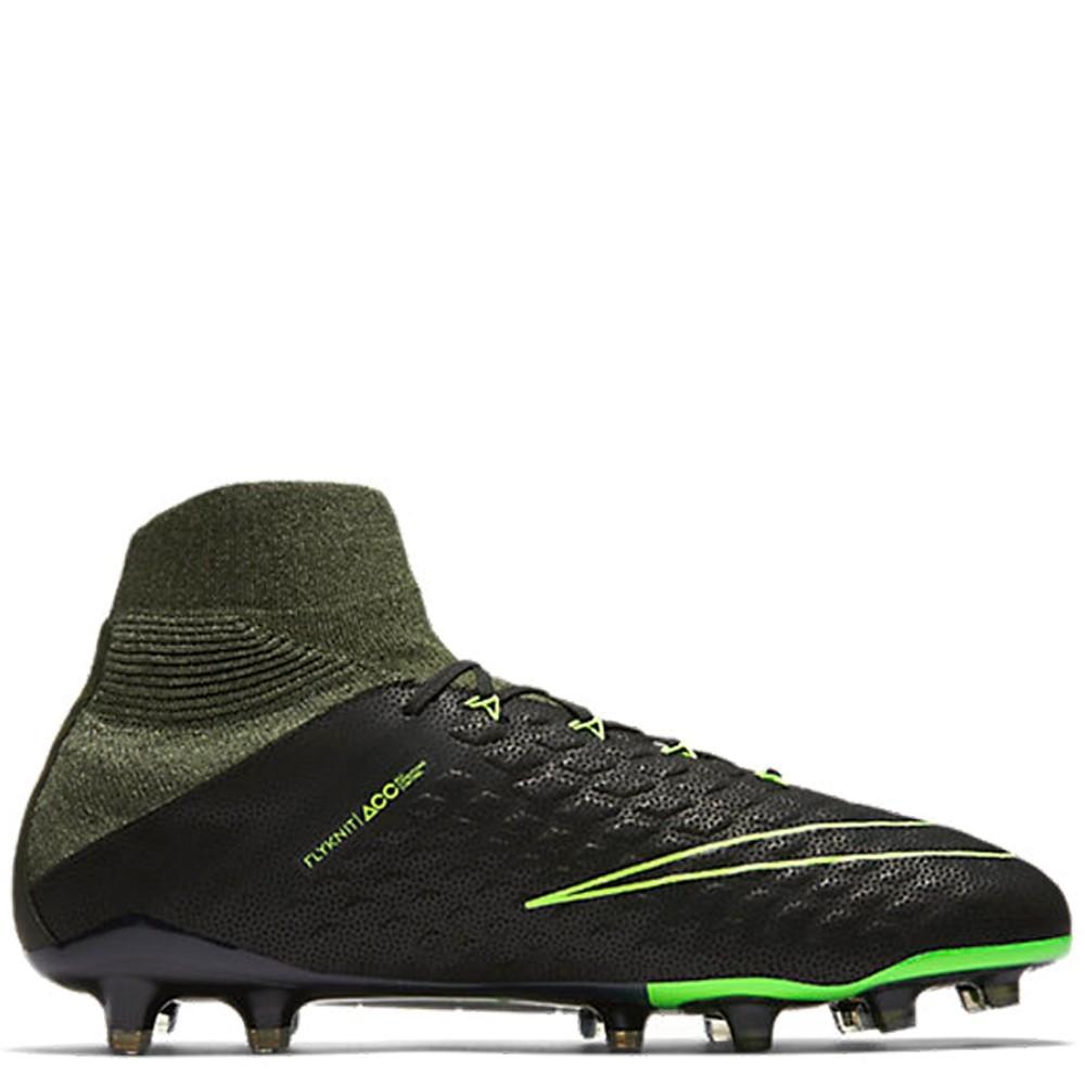 2040a0cb114a Nike Hypervenom Phantom Iii Df Tech Craft Fg-electric Green Mens Football  Shoes
