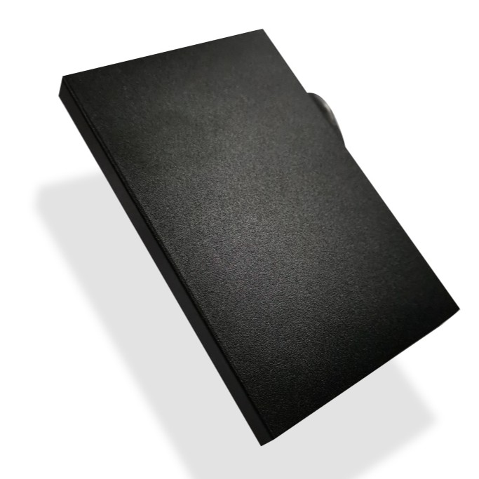 RFID Card Holder Black Matte Coating