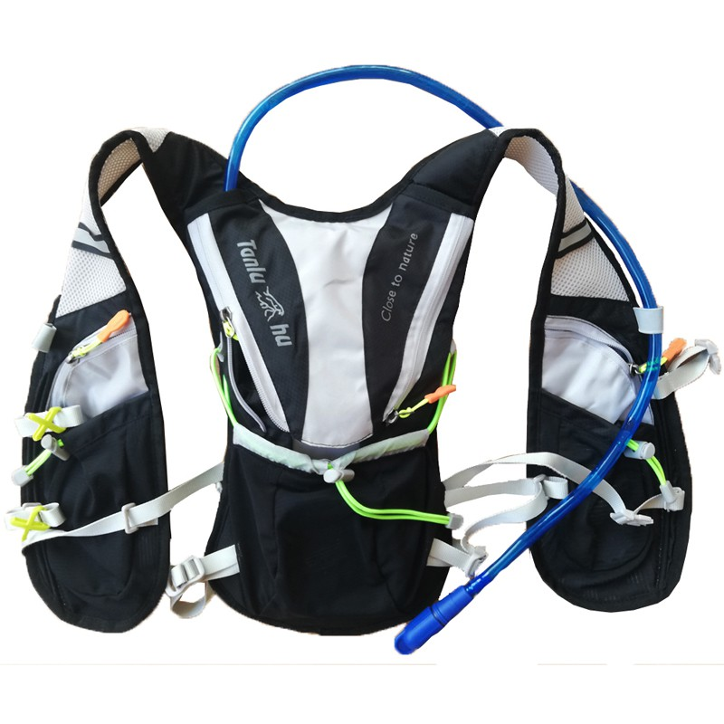 best sell check out authentic quality Lightweight Hydration Vest Pack Outdoor Sport Bags Trail Running ...
